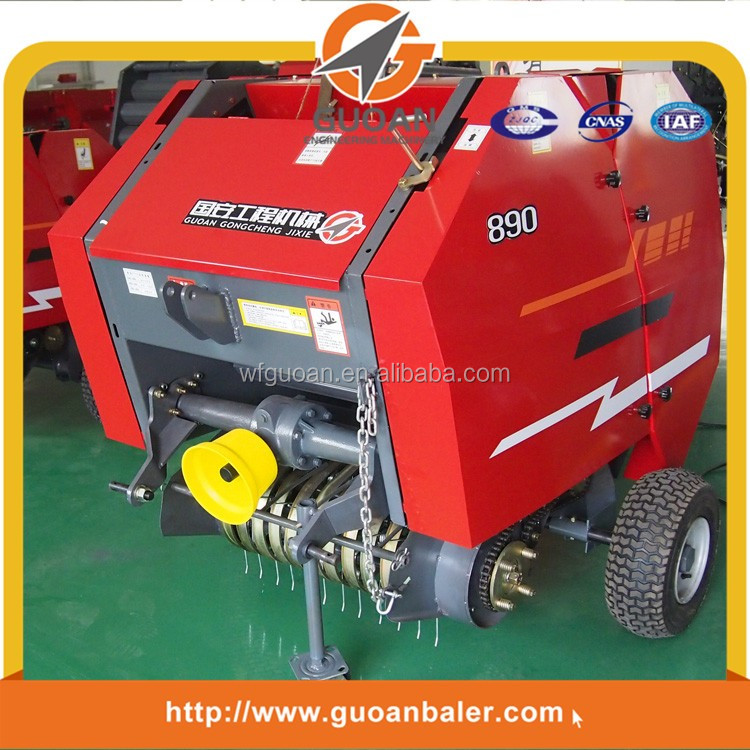 farm bundling equipment cheap hay baler grass bundling machine