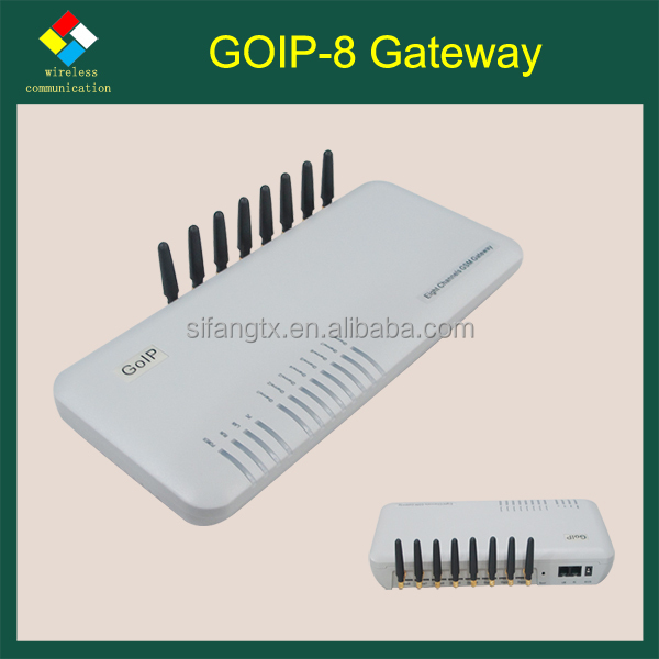Hot Selling!Good Price Imei Change GoIP 8 Port Gsm VoIP Gateway