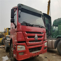 China brand Used sinotruck howo dump truck tractor head 371hp ,cheap price 10 wheels ,12 wheels machine for sale