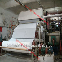 LOW COST Small model 3T/DToilet Tissue Paper Machine, China manufacturer