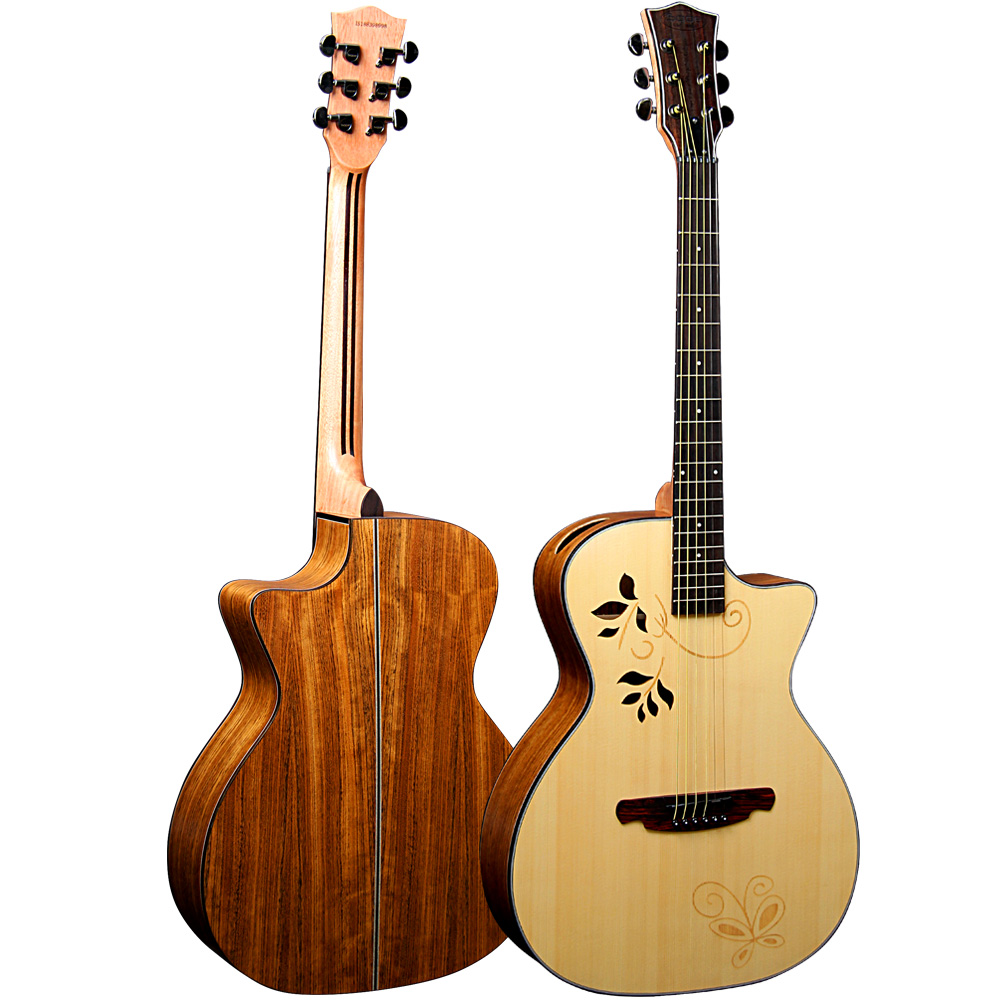 Global competitive price music guitars acoustic guitars