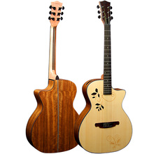 Global lowest price music guitars acoustic guitars