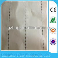 Customized special invisible fiber paper with silver thread safe water marked paper