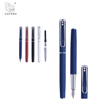 2018 High Quality Business gift metal fountain pen gift pen made in China
