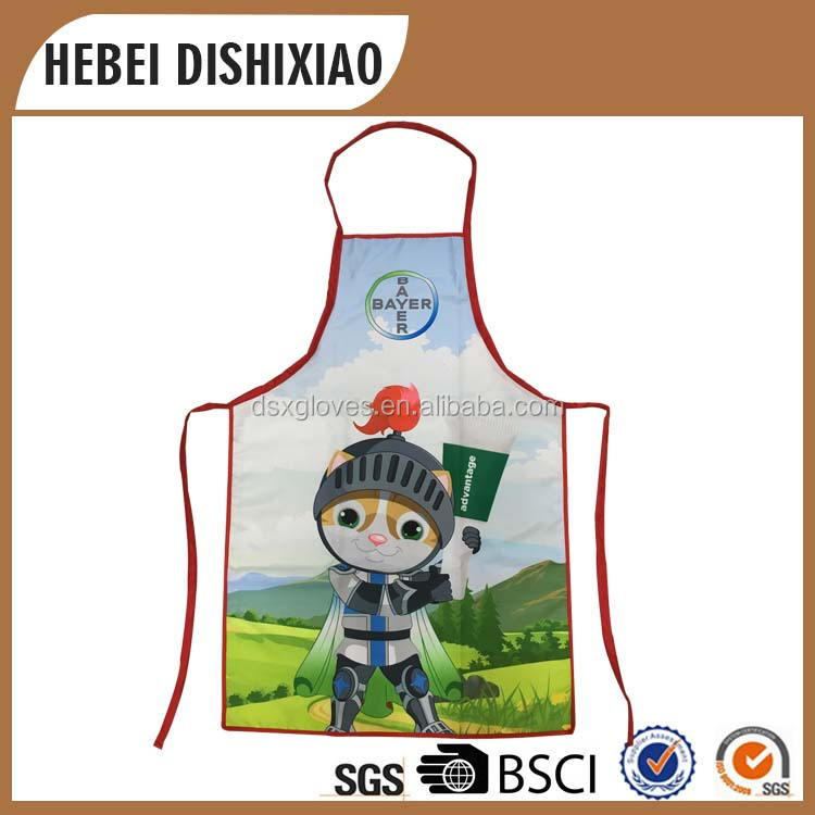 Promotional Apron Factory Price Custom Apron Dye Sublimation Printing Bib Apron Adult Kids