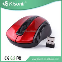 2015 Best Selling 2.4G Wireless Optical Mouse With 1600DPI For Computer