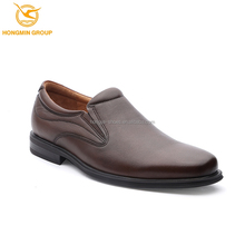 Classic oem brand walking casual shoes cow skin leather men no laces fashion folded soft sole best casual shoes men 2017
