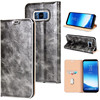 luxury genuine leather case cow skin leather case custom flip phone case for Samsung Galaxy S8