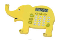 promotional 8 digit dual power pocket calculator