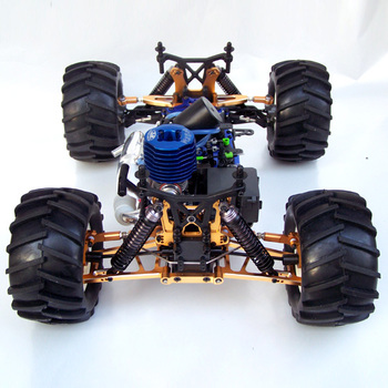 250-83PRO 1/8 nitro powered 4WD off-road truck-Boom Wheel-Upgrade version rc truck
