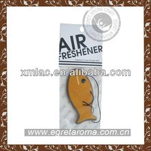 make hanging paper car air freshener in diamond shape for brand promotion