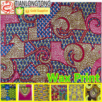 online wholesale shop 2015 high quality african wax prints fabric hollandaise wax fabric