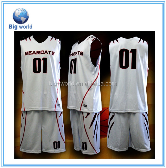 China cheap factory fashionlable basketball jersey uniform design