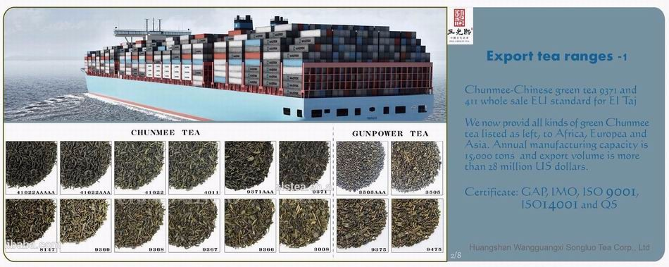 The vert de Chine, China green tea 41022AAAAA