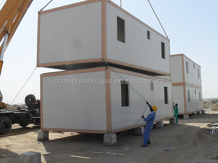 Top selling china prefab container house workers dormitories
