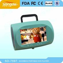 portable dvd players led tv dvd movies with boombox for sale