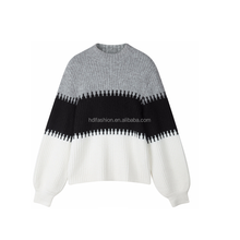 Heavy knit new design casual oversized sweaters for women winter