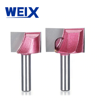 WEIX  professional 6mm/12.7mm Cleaning bottom Engraving solid carbide router bit Woodworking Tools