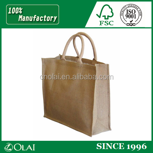 Fancy eco friendlyrecyclable jute pouch sack for gift packing,jute bag for candy