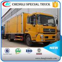 DONGFENG 210hp 4*2 6wheels 15tons RHD Middle Duty Cargo Van Type Truck