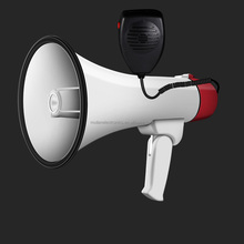 High Power Megaphone with detachable microphone USB TF SD AUX