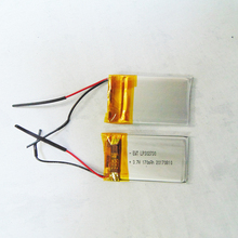 3.7v 190mah li-ion battery 042030 high capacity rechargeable li ion lithium polymer lipo battery