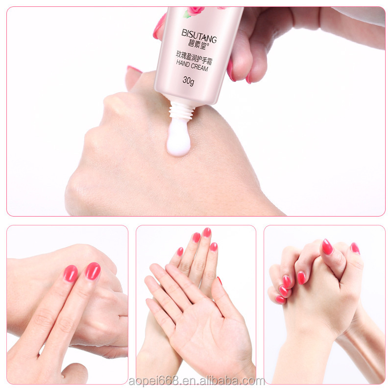 Rose essence fragrance mini hand cream whitening cream for hands