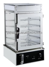 commercial glass Food Display Steamer DH-500