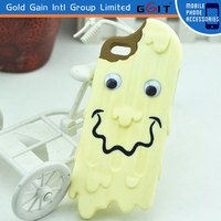 Cute 3D Chocolate Ice Cream Silicone Back Case Cover For Apple For iPhone 5 5g 5s