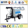1000b Mobile Light Tower With Diesel Generators