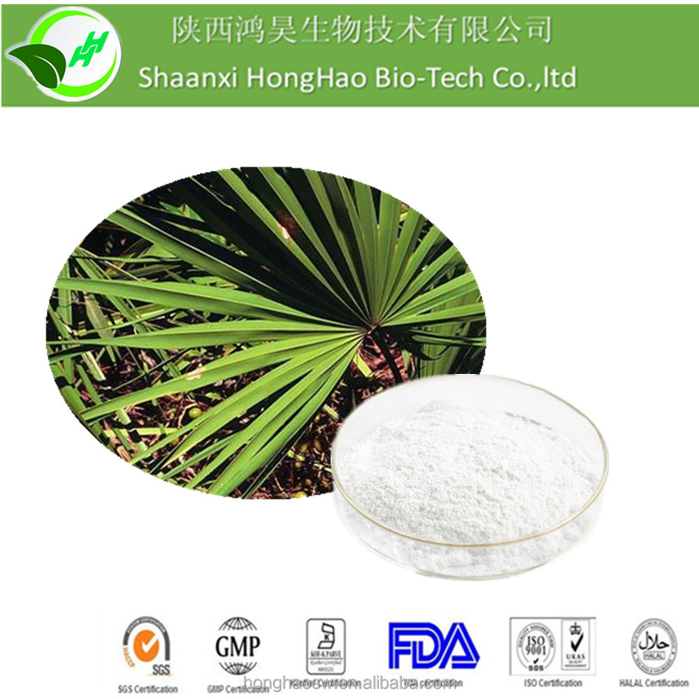 Sale of saw palmetto herbal seeds powder extract