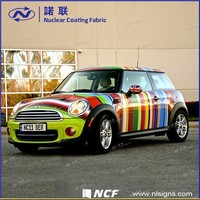Car wrap printed pvc vinyl manufacturer