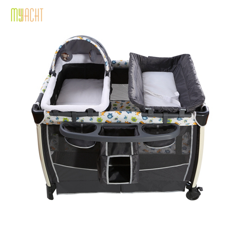 <strong>102</strong> 72 72cm mini sleeper inside multi purpose portable baby playard travel playpen bed
