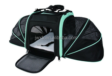 New Design Double Expandable Pet Carrier Approved Airline Dog Carriers