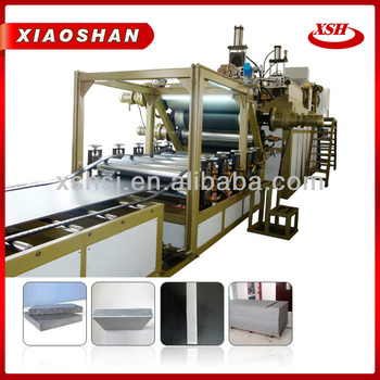 2014 New Products PE Plastic Foam Board Extrusion Machinery