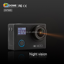 customerized driver sports camera Waterproof Wifi sports cam 4K Mini Action Camera night vision