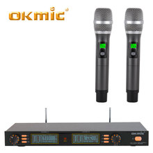 Professional uhf wireless handheld microphone for karaoke