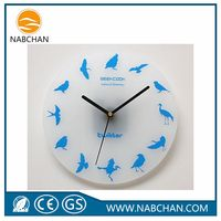Fashion cheap circular decorative wall clock