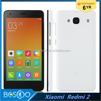 Original Xiaomi Redmi 2 Quad Core Mobile Phone 1.2GHz Android 4.4 cell phone 1GB RAM 8GB ROM smart phone