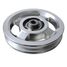 aluminum pulley & plastic pulleys for Gym Equipment Manufacturer
