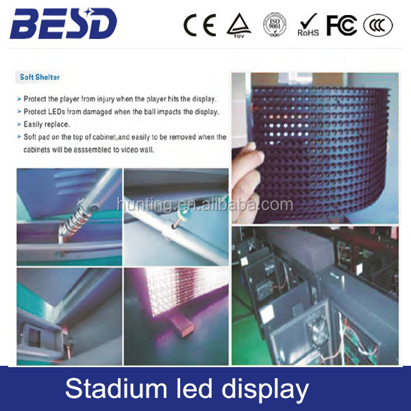 BEST price of flexible indoor p5 full color advertising led display screen module