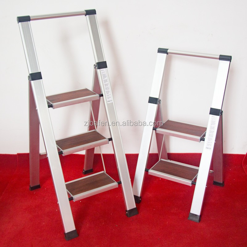 2step foldable easy store step ladder made in china EN131