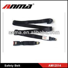 Universal static simple 2 point polyester safety belt safety belt motorcycle