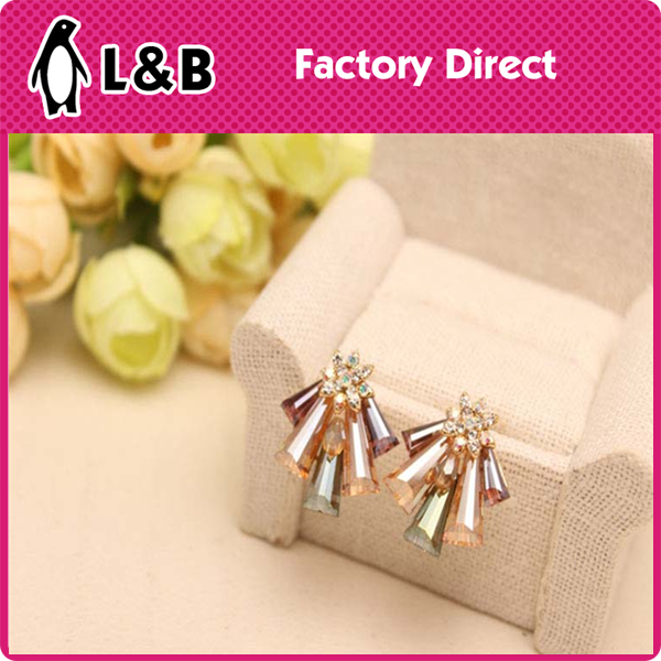 2015 hot selling fashion earrings for 1 dollar