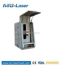 20w fiber closed metal laser marking machine