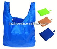 Hot sales plaid nylon shopping bag for shopping and promotiom,good quality fast delivery