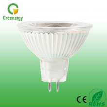 CE Approved 3W 5W 7W MR16 GU5.3 Glass cob mr16 cob led spotlight