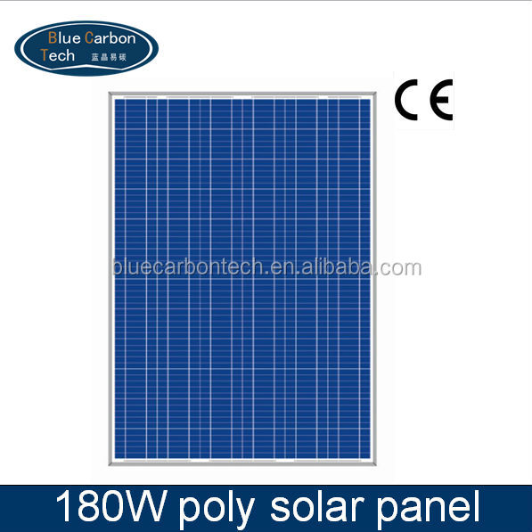 Photovoltaic Higher conversion efficiency solar panel 180W