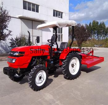 farm tractor 30HP 4WD with mower 2019 model TY304 weituo brand