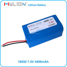 18650 Lithium Battery 7.2V 4400MAH For smart robot with Samsung 18650